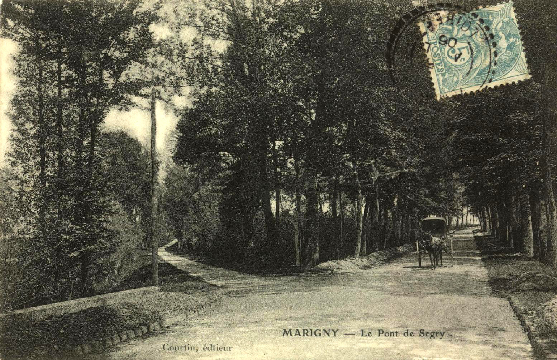 Marigny les Usages Pont Segry